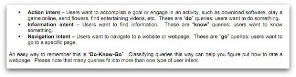 google-arama-niyetleri-do-know-go